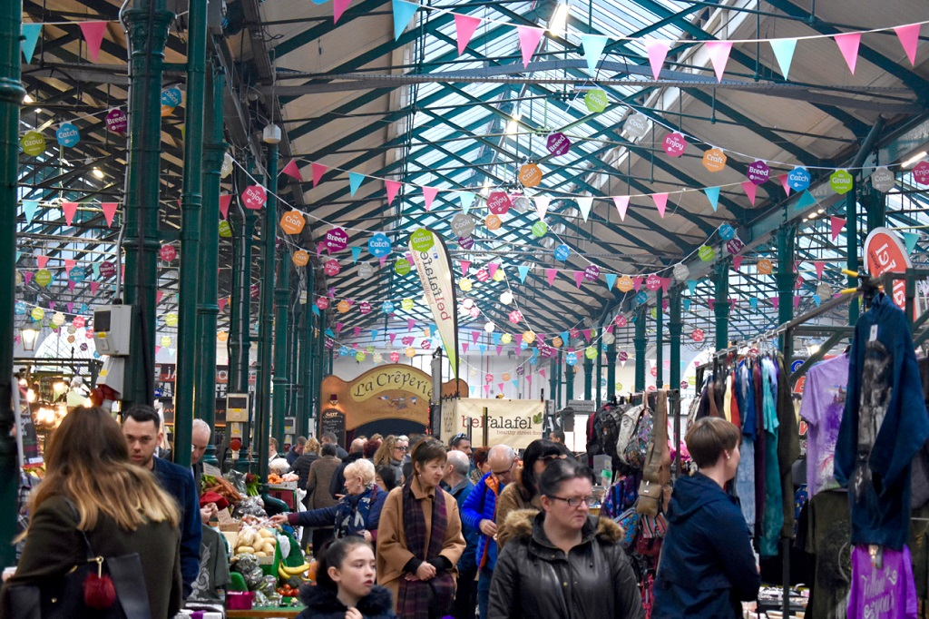 avrupa rüyası belfast St. George's Market