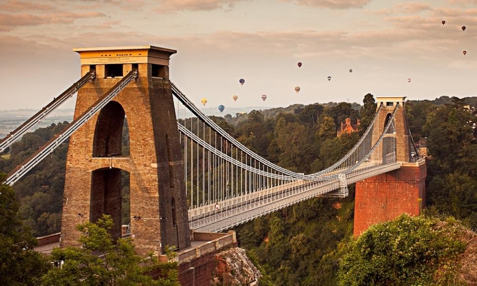 avrupa rüyası ingiltere bristol clifton köprüsü