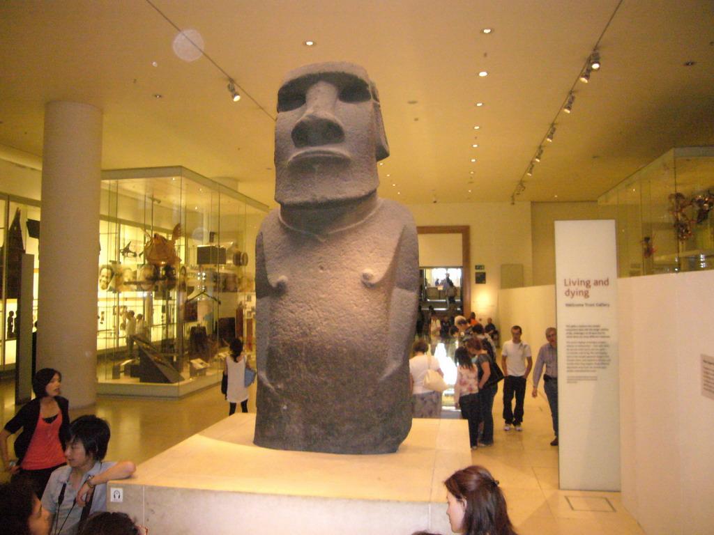 avrupa rüyası britanya turu british museum hoa hakananai heykeli