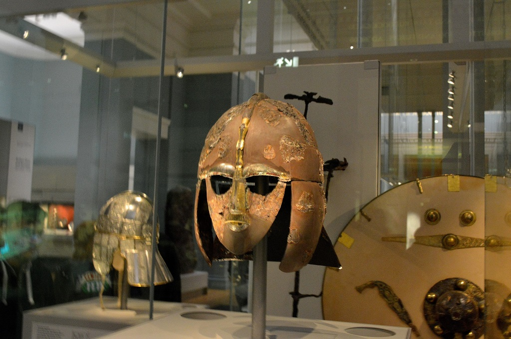 avrupa rüyası britanya turu britsih museum Sutton Hoo Maskesi