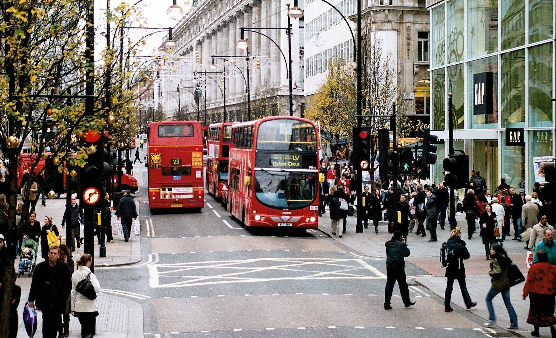 avrupa rüyası londra Oxford Street