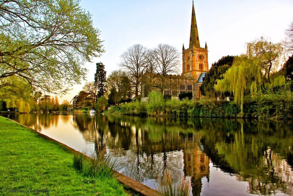 avrupa rüyası ingiltere stratford-upon-avon trinity kilisesi