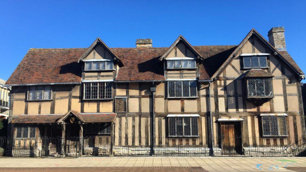 avrupa rüyası ingiltere stratford-upon-avon shakespeare doğduğu ev