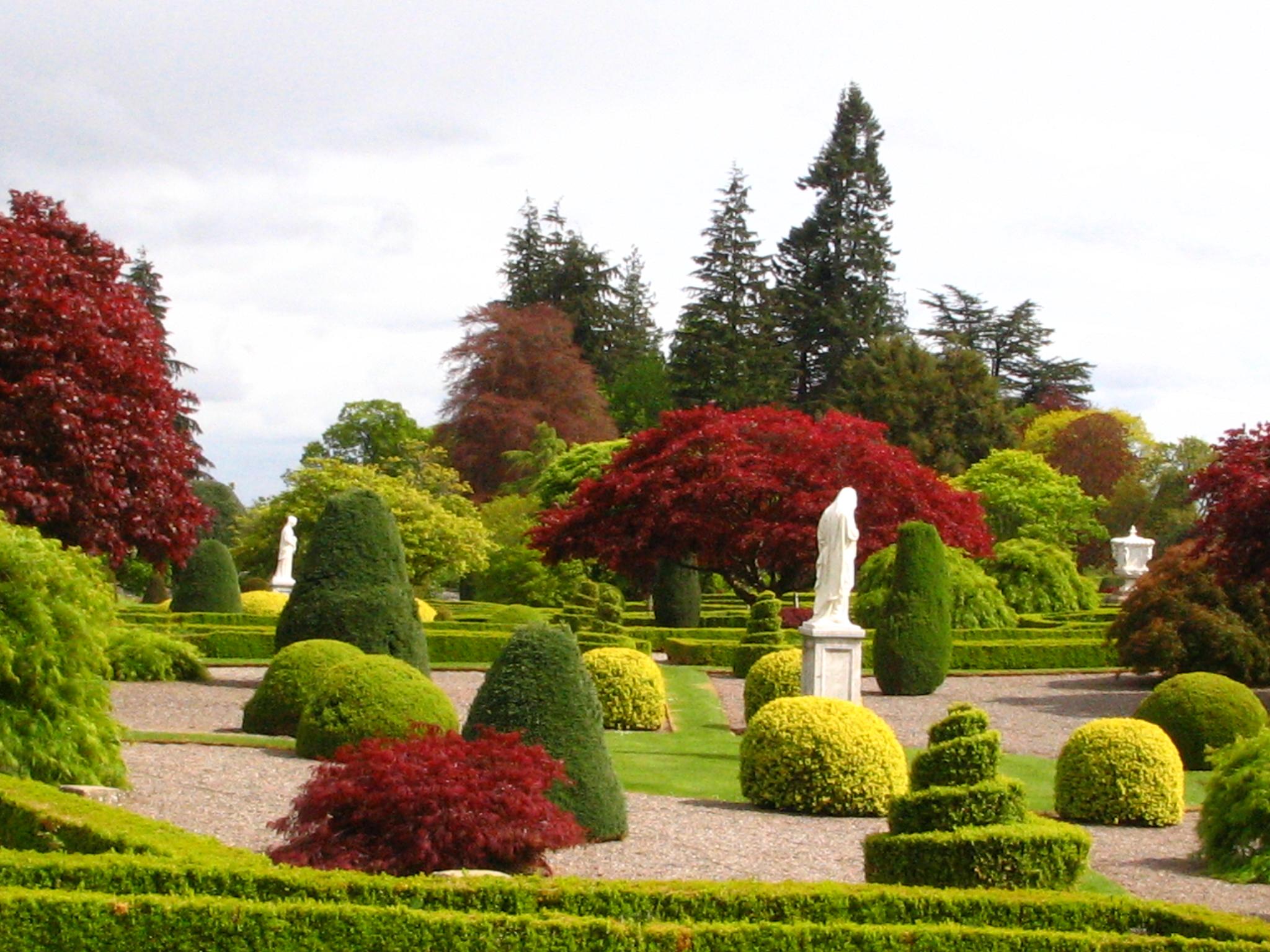 avrupa rüyası edinburgh botanik bahçesi