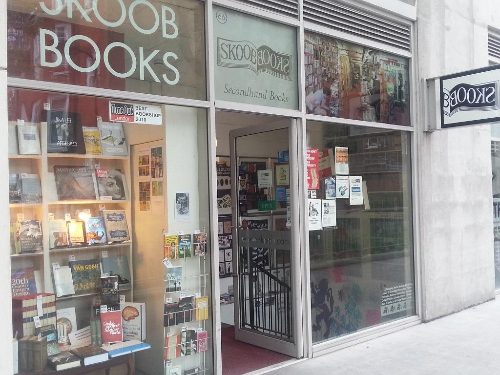 Londra Skoob Books,