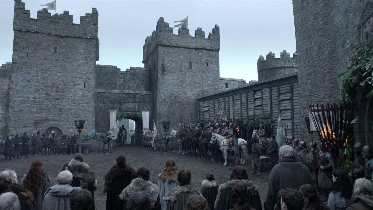 kuzey irlanda castle ward game of thrones