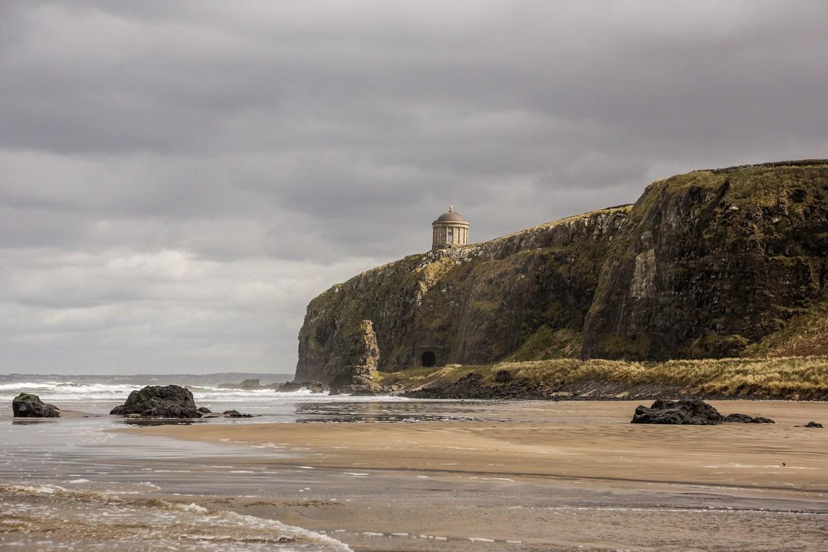 avrupa rüyası kuzey irlanda downhill beach