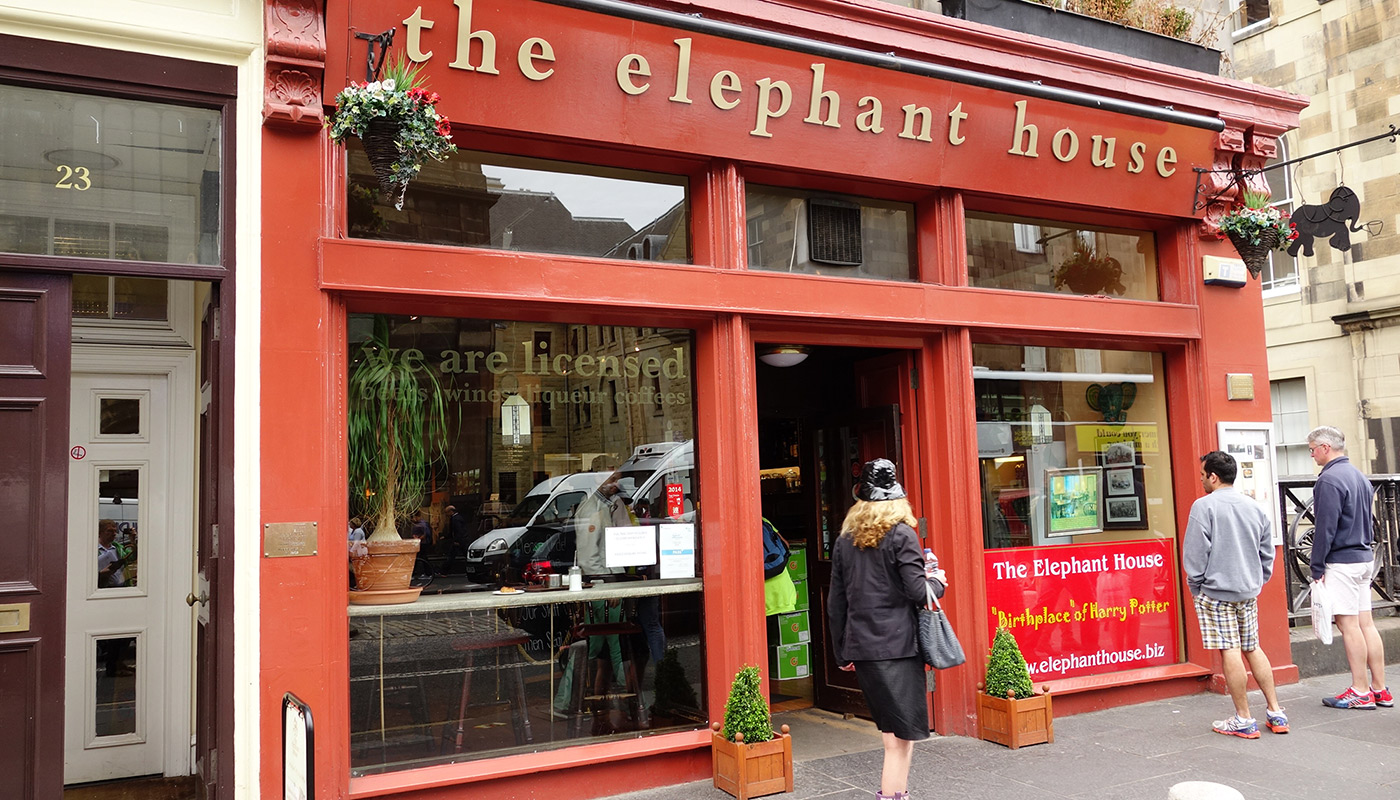 edinburgh Elephant Cafe
