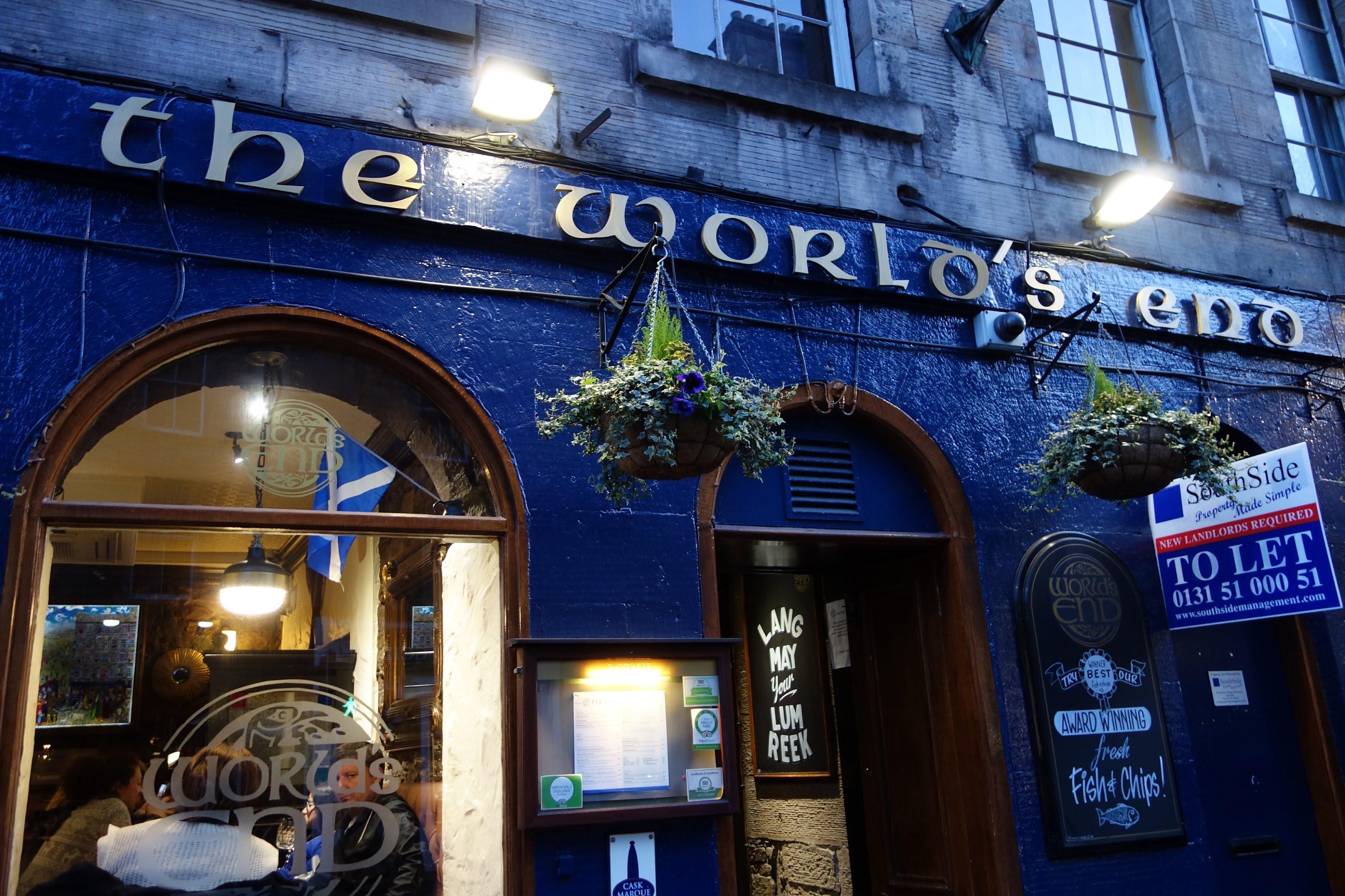 iskoçya edinburgh pubları