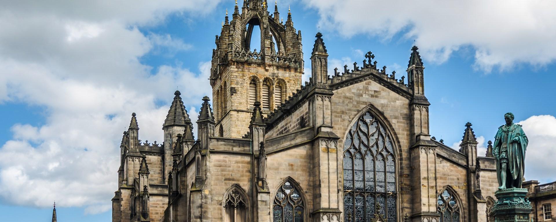 iskoçya edinburg St. Giles Katedrali
