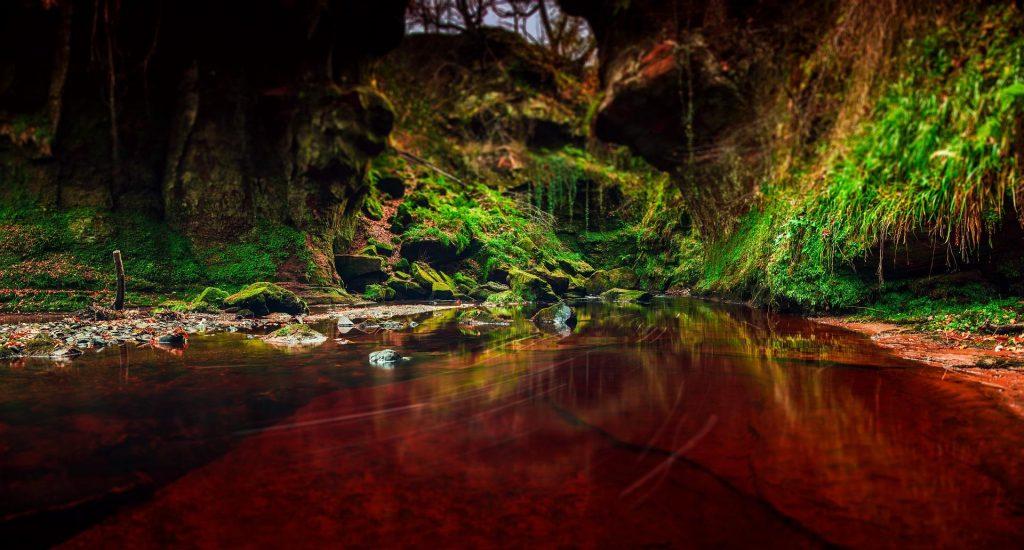 Finnich Glen İskoçya