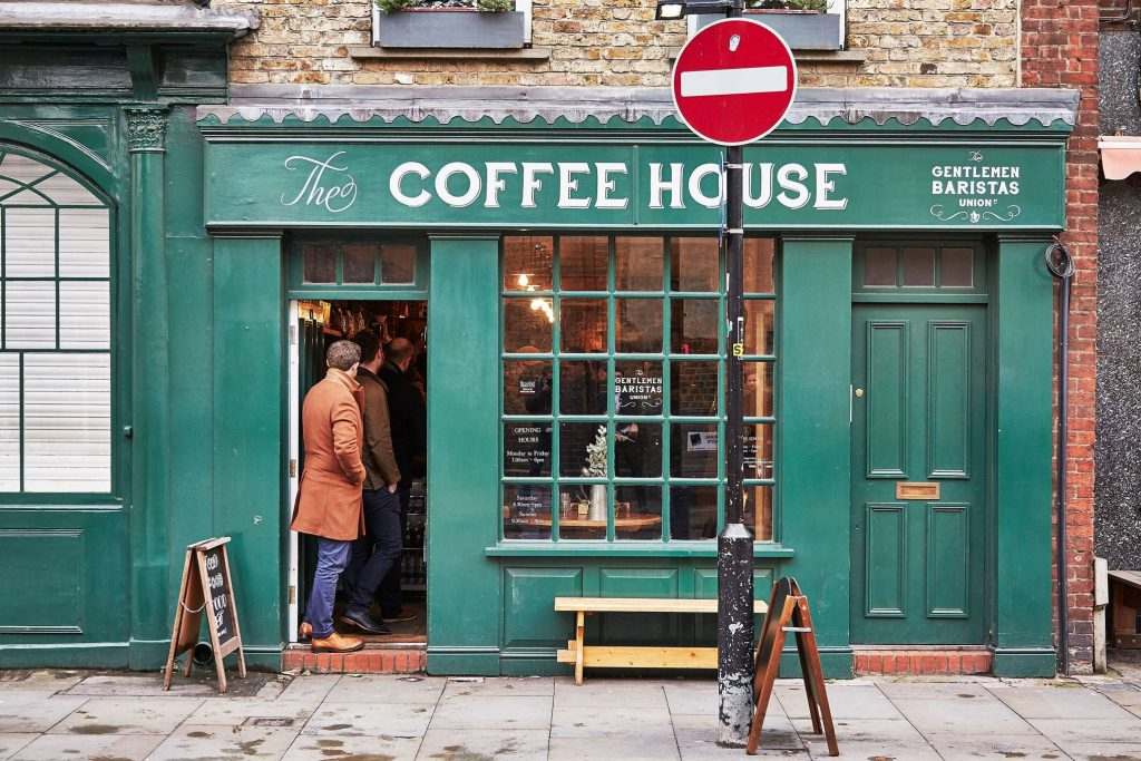 londra kahve dükkanları