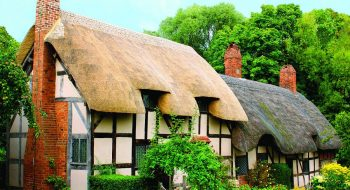 Shakespeare'in Doğduğu Şehir Stratford-Upon-Avon