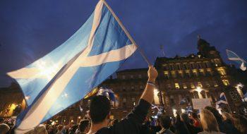 İskoçya Bayrağının Hikayesi